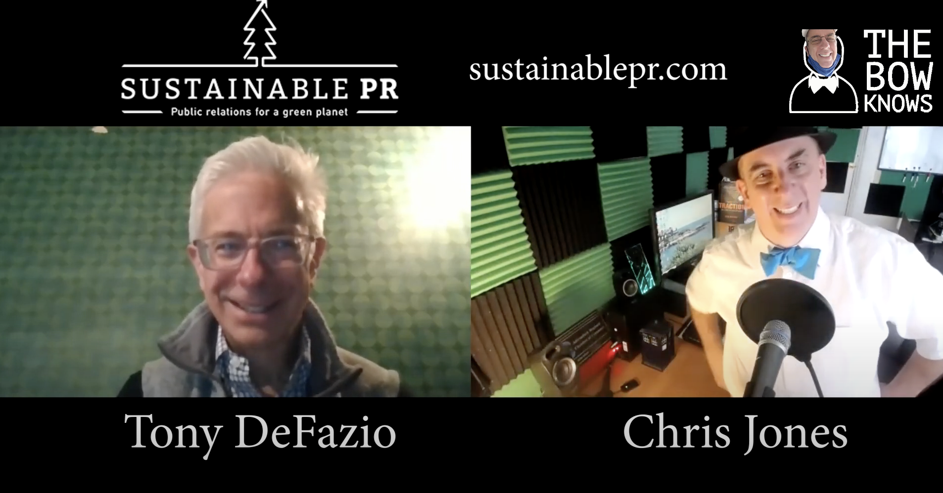 """What Is the New Green Economy? """"The Bow Knows"""" Interviews SPR Founder Tony DeFazio"""