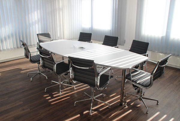 crisis communications boardroom